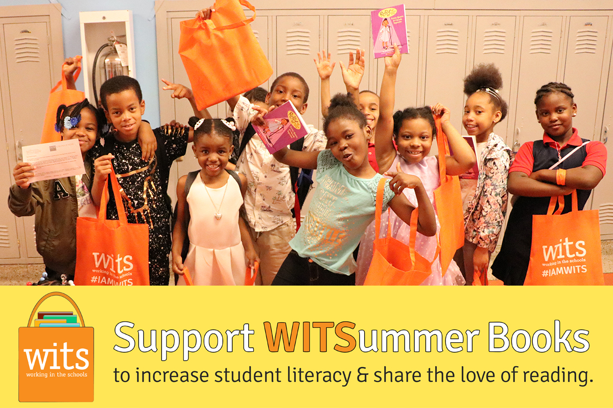 Support WITSummer Books to increase student literacy & share the love of reading.
