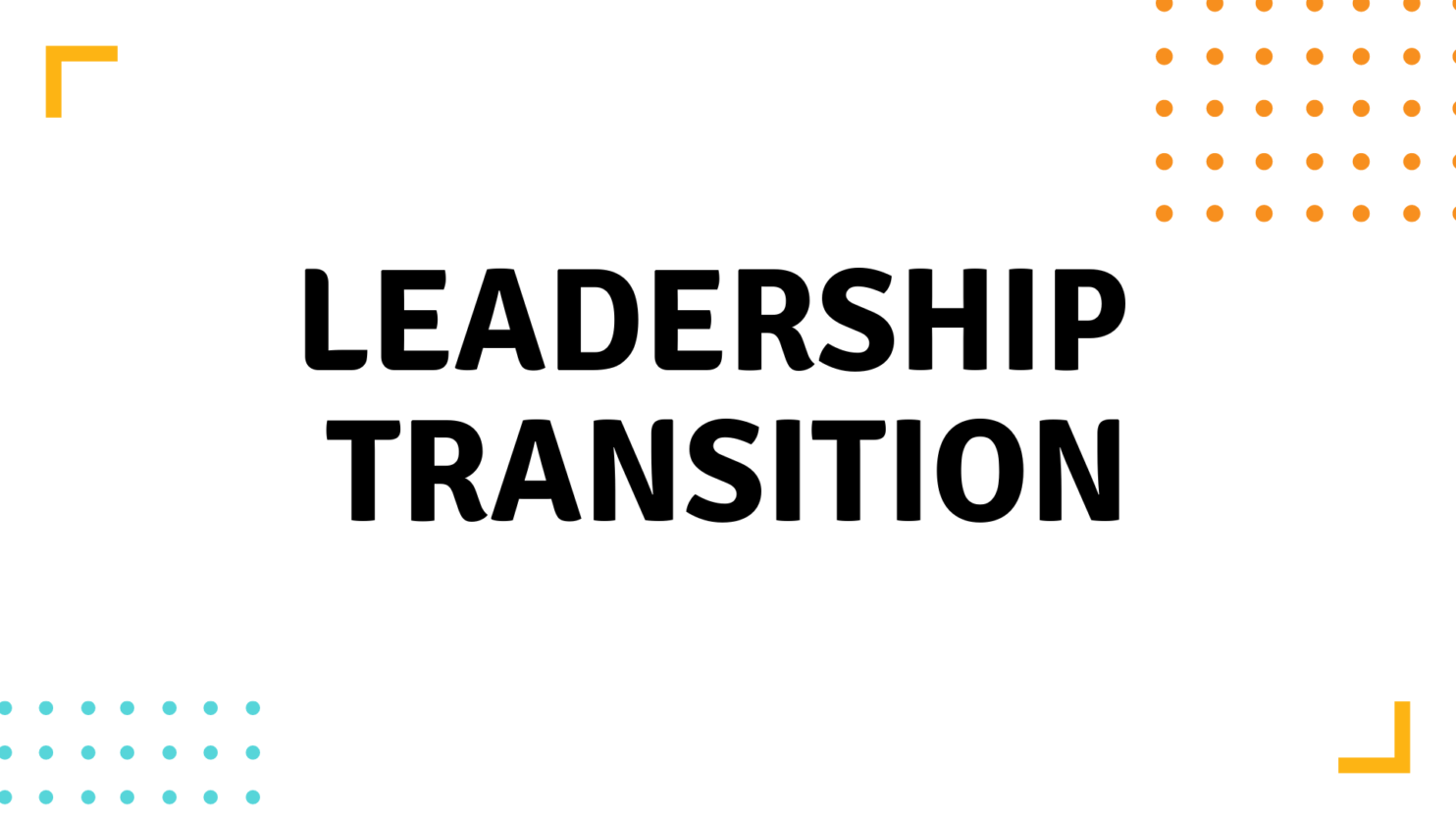 WITS Leadership Transition