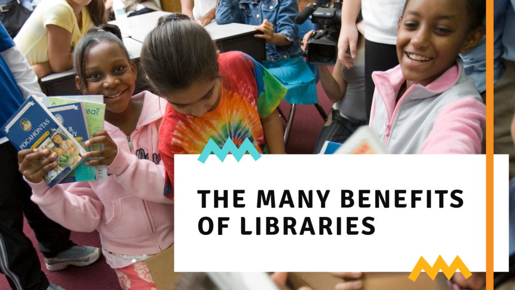The many benefits of libraries